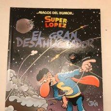 Cómics: MAGOS DEL HUMOR Nº 161. SUPERLOPEZ. EL GRAN DESAHUCIADOR. EDICIONES B 1ª EDICION 2014. NUEVO. Lote 165619810