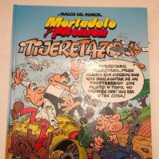 Cómics: MAGOS DEL HUMOR Nº 164. MORTADELO Y FILEMON. TIJERETAZO. EDICIONES B 1ª EDICION 2014. NUEVO. Lote 165620186