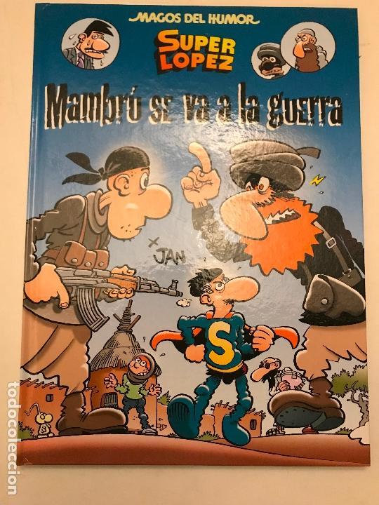 MAGOS DEL HUMOR Nº 171. SUPERLOPEZ. MAMBRU SE VA A LA GUERRA. EDICIONES B 1ª EDICION 2015. NUEVO (Tebeos y Comics - Ediciones B - Clásicos Españoles)