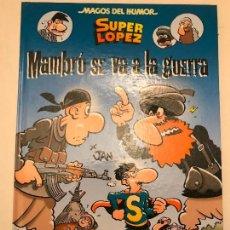 Cómics: MAGOS DEL HUMOR Nº 171. SUPERLOPEZ. MAMBRU SE VA A LA GUERRA. EDICIONES B 1ª EDICION 2015. NUEVO. Lote 165620382