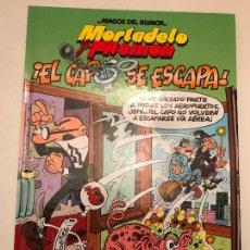 Cómics: MAGOS DEL HUMOR Nº 180. MORTADELO Y FILEMON. EL CAPO SE ESCAPA. EDICIONES B 1ª EDICION 2016. NUEVO. Lote 165620858