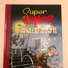 Cómics: SUPER HUMOR CLASICOS Nº 9. ANACLETO, AGENTE SECRETO. EDICIONES B 1ª EDICION 2009. NUEVO. Lote 165621918