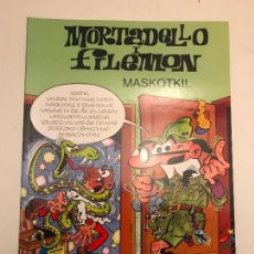 Cómics: MORTADELLO I FILEMON. MASKOTKI. MORTADELO Y FILEMON EN POLACO. EDITORIAL KASEN 1ª Y UNICA EDICION. Lote 165623210