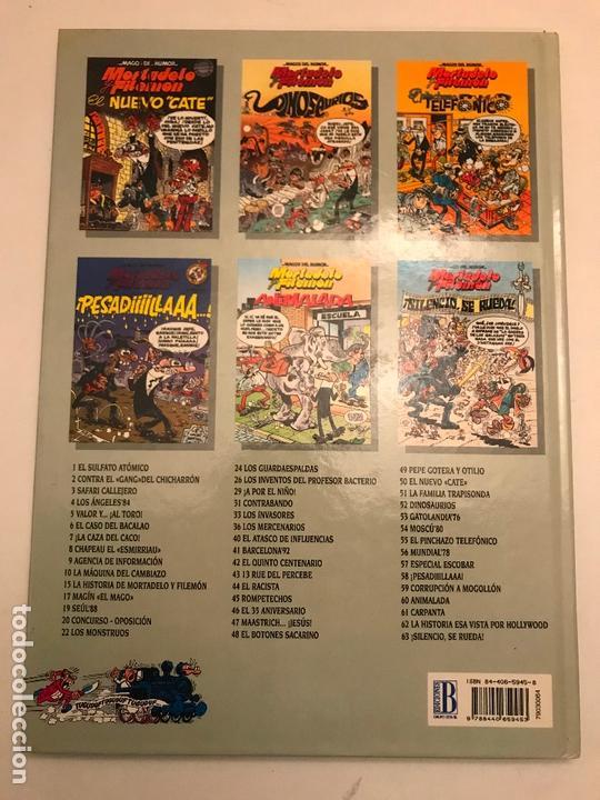 Cómics: MAGOS DEL HUMOR Nº 64. MORTADELO Y FILEMON. 1ª EDICION 1995. CON SELLO DE DISTRIBUIDORA - Foto 2 - 165624850