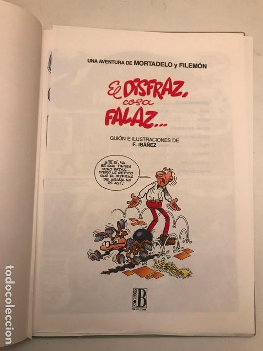 Cómics: MAGOS DEL HUMOR Nº 64. MORTADELO Y FILEMON. 1ª EDICION 1995. CON SELLO DE DISTRIBUIDORA - Foto 3 - 165624850