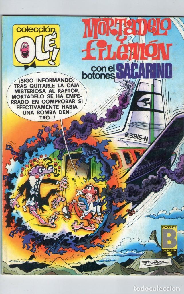 MORTADELO Y FILEMÓN - COLECCIÓN OLÉ Nº 165 M. 94 - F. IBAÑEZ - EDICIONES B - AÑO 1988. (Tebeos y Comics - Ediciones B - Otros)