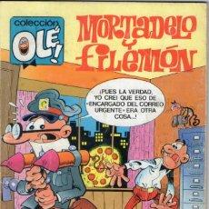 Cómics: MORTADELO Y FILEMÓN - COLECCIÓN OLÉ Nº 71 M. 78 - F. IBAÑEZ - EDICIONES B - AÑO 1990.. Lote 165646302