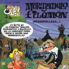 Comics - MORTADELO Y FILEMÓN - ¡PESADIIIILLAAA...! - OLÉ Nº 124 - F. IBAÑEZ - EDICIONES B - AÑO 2000. - 165650066