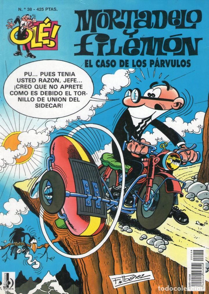 MORTADELO Y FILEMÓN - EL CASO DE LOS PÁRVULOS - OLÉ Nº 38 - F. IBAÑEZ - EDICIONES B - AÑO 1999. (Tebeos y Comics - Ediciones B - Otros)