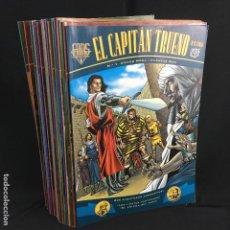 Cómics: EL CAPITAN TRUENO-EXTRA-COLECCIÓN FANS-NÚMEROS DEL 1-24-EDICIONES B-2001. Lote 166888796
