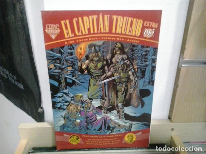 LMV - EL CAPITAN TRUENO, NUM. 23. VICTOR MORA / FUENTES MAN-AMBRÓS (Tebeos y Comics - Ediciones B - Clásicos Españoles)