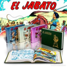 Cómics: CÓMICS. PACK EL JABATO. (NºS 49 AL 240). 4 TOMOS - VÍCTOR MORA/FRANCISCO DARNÍS (CARTONÉ) DESCATALOG. Lote 167519104