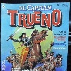 Cómics: EL CAPITAN TRUENO N.1. Lote 167559220