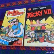 Cómics: DRAGON POCKET NºS 3 RADIO LUCIEN Y 5 RICKY VII. EDICIONES B 1990. DRAGON CÓMICS. RÚSTICA. MBE.. Lote 167574884