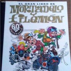 Cómics: EL GRAN LIBRO DE MORTADELO Y FILEMON (60 ANIVERSARIO) CON FIRMA DE FRANCISCO IBAÑEZ. Lote 167575380