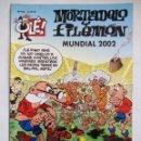 Cómics: MORTADELO Y FILEMÓN. MUNDIAL 2002. OLÉ Nº 162. EDICIONES B. ESPAÑA 2002.. Lote 168079120