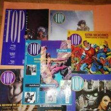 Cómics: COMICS TOP REVISTA EDICIONES B. CASI COMPLETA . FALTA EL Nº 4. . Lote 168159768