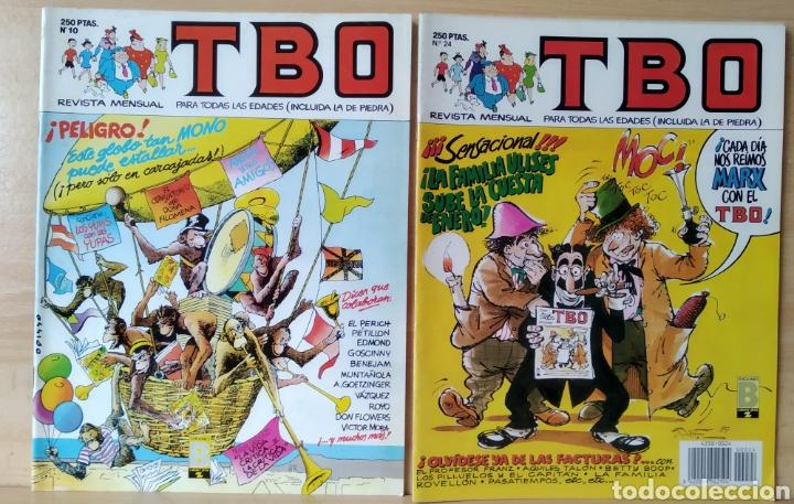 2 TBO N. 10 Y 24 AÑO 1988 (Tebeos y Comics - Ediciones B - Clásicos Españoles)