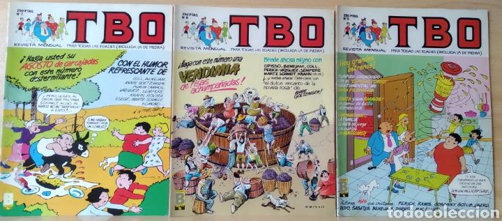 3 TBO N. 7-8-9 AÑO 1988 (Tebeos y Comics - Ediciones B - Clásicos Españoles)