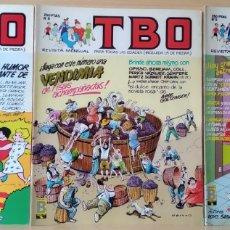 Cómics: 3 TBO N. 7-8-9 AÑO 1988. Lote 168177517