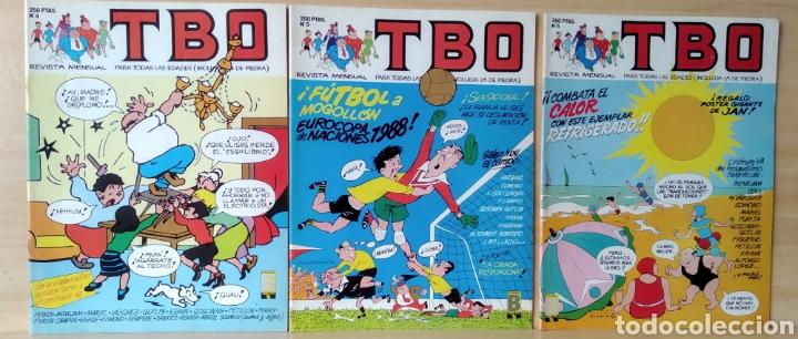 3 TBO N. 4-5-6 AÑO 1988 (Tebeos y Comics - Ediciones B - Clásicos Españoles)
