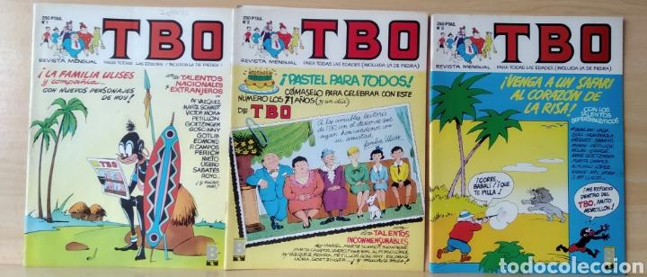 3 TBO N. 1-2-4 AÑO 1988 (Tebeos y Comics - Ediciones B - Clásicos Españoles)