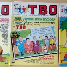 Cómics: 3 TBO N. 1-2-4 AÑO 1988. Lote 168178076