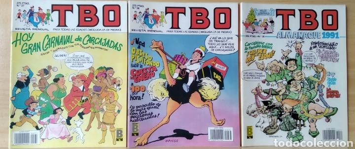 3TBO N. 35-36-37 AÑO 1990 (Tebeos y Comics - Ediciones B - Clásicos Españoles)