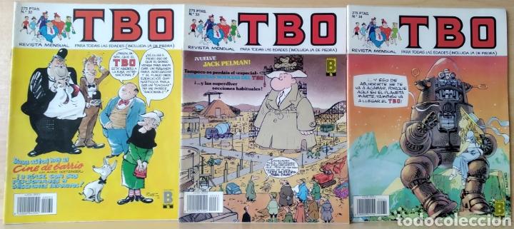 3 TBO N. 32-33-34 AÑO 1990 (Tebeos y Comics - Ediciones B - Clásicos Españoles)