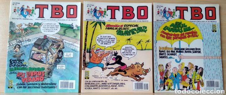 3 TBO N. 27-28-31 AÑO 1990 (Tebeos y Comics - Ediciones B - Clásicos Españoles)