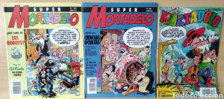 3 CÒMICS SUPER MORTADELO N. 84-102-160 (Tebeos y Comics - Ediciones B - Clásicos Españoles)