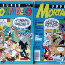 Cómics: 2 CÒMICS SUPER MORTADELO N. 74-92. Lote 168193617