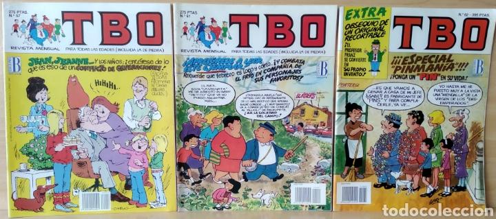 3 TBO N. 57-61-62 (1993) (Tebeos y Comics - Ediciones B - Clásicos Españoles)