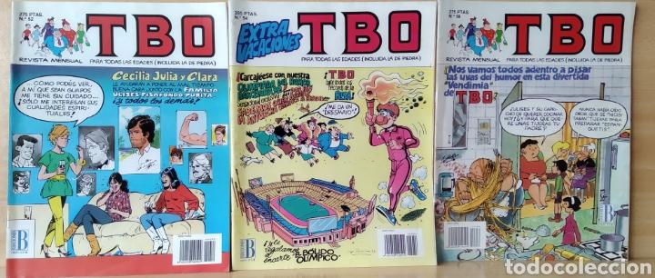 3 TBO N. 52-54-56 (1992) (Tebeos y Comics - Ediciones B - Clásicos Españoles)
