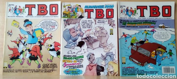3 TBO N. 22-23-25 (1989) (Tebeos y Comics - Ediciones B - Clásicos Españoles)