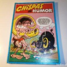 Cómics: CHISPAS DE HUMOR 2 - MORTADELO NUM. 3 Y 4; ZIPI Y ZAPE NUM. 3 Y 4; PULGARCITO NUM. 27 - EDICIONES B. Lote 168316728