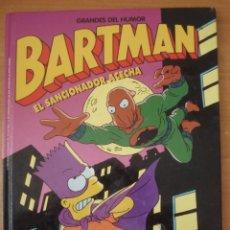 Cómics: LOS SIMPSON. BARTMAN. EL SANCIONADOR ACECHA. EDICIONES B. AÑO 1997.. Lote 168331632