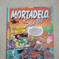 Cómics: SUPER MORTADELO Nº 20 - D1. Lote 168358052