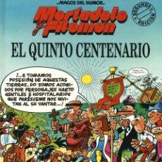 Cómics: MORTADELO Y FILEMÓN: EL QUINTO CENTENARIO (B, 1992) DE IBAÑEZ. MAGOS DEL HUMOR-42. TAPA DURA. Lote 168373172