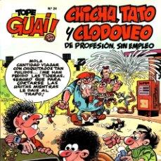 Cómics: CHICHA, TATO Y CLODOVEO: VIAJAR ES UN PLACER (TEBEOS, SA-B, 1989) DE IBAÑEZ. TOPE GUAI!-24. Lote 168374700