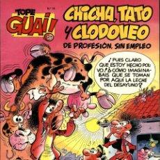 Cómics: CHICHA, TATO Y CLODOVEO: MOGOLLÓN EN LA GRANJA (TEBEOS, SA-B, 1989) DE IBAÑEZ. TOPE GUAI!-19. Lote 168374896