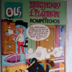 Comics : OLÉ!- EDICIONES B- Nº 250 - MORTADELO Y FILEMÓN-1990- APÓCRIFOS RAROS- CORRECTO- LEAN- 1393. Lote 168745588