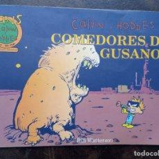 Cómics: CALVIN Y HOBBES. COMEDORES DE GUSANOS (FANS CALVIN Y HOBBES N 11). Lote 168791024