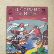 Cómics: EL CORSARIO DE HIERRO # 3 - COLECCIÓN FANS. Lote 168955120