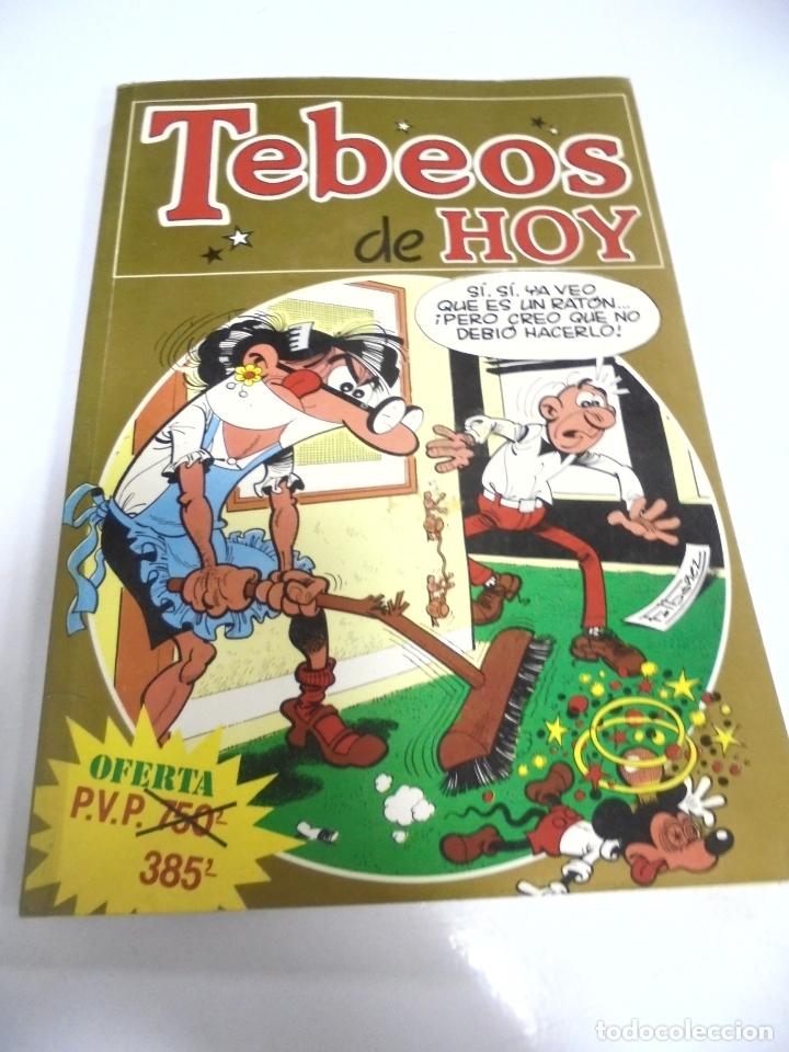 TEBEOS DE HOY. Nº 21. MORTADELO, ZIPI Y ZAPE. EDICIONES B. (Tebeos y Comics - Ediciones B - Humor)