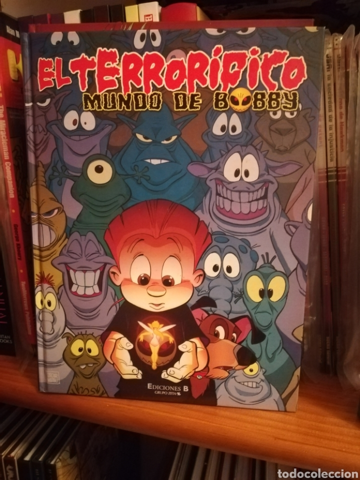 EL TERRORÍFICO MUNDO DE BOBBY-OSCAR MARTÍN-EDICIONES B (Tebeos y Comics - Ediciones B - Otros)