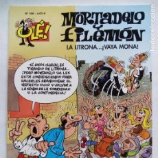 Cómics: MORTADELO Y FILEMÓN. LA LITRONA...VAYA MONA. OLÉ Nº 198. EDICIONES B. ESPAÑA 2014.. Lote 169238416