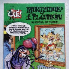 Cómics: MORTADELO Y FILEMÓN. SILENCIO, SE RUEDA. OLÉ Nº 128. EDICIONES B. ESPAÑA 1996.. Lote 169241824
