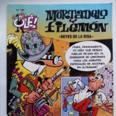 Cómics: MORTADELO Y FILEMÓN. REYES DE LA RISA. OLÉ Nº 126. EDICIONES B. ESPAÑA 1996.. Lote 169242216