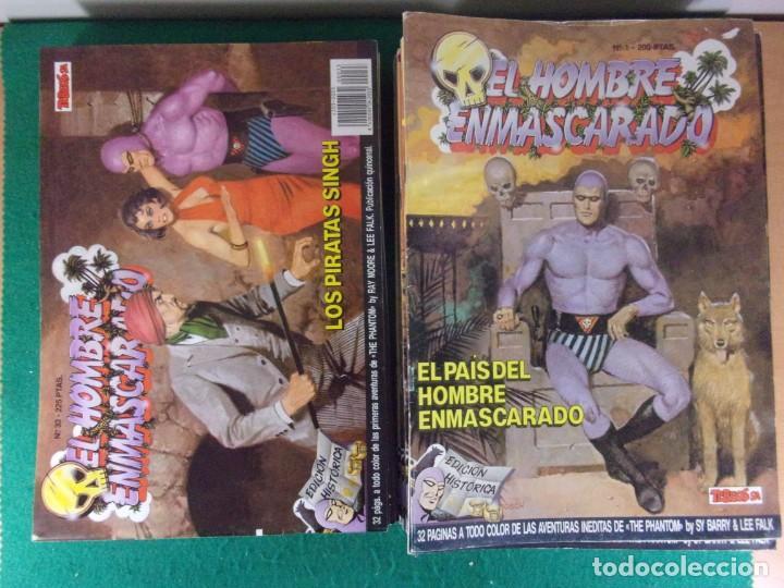 EL HOMBRE ENMASCARADO / 50 PRIMEROS NÚMEROS / EDICIONES B - EDICIÓN HISTÓRICA - TEBEOS S.A. 1988 (Tebeos y Comics - Ediciones B - Otros)